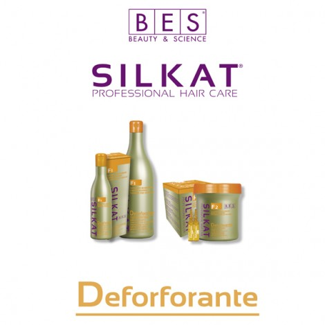 BES F1 SILKAT DANDRUFF TREATMENT ACTIVE SHAMPOO Противопърхотен шампоан 300ml