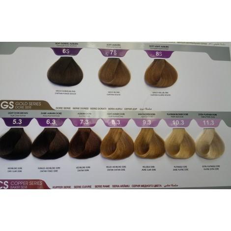 Morfose 10 Hair Color Cream Професионална боя за коса с аргано масло и специален билков комплекс 100ml+150ml оксидант
