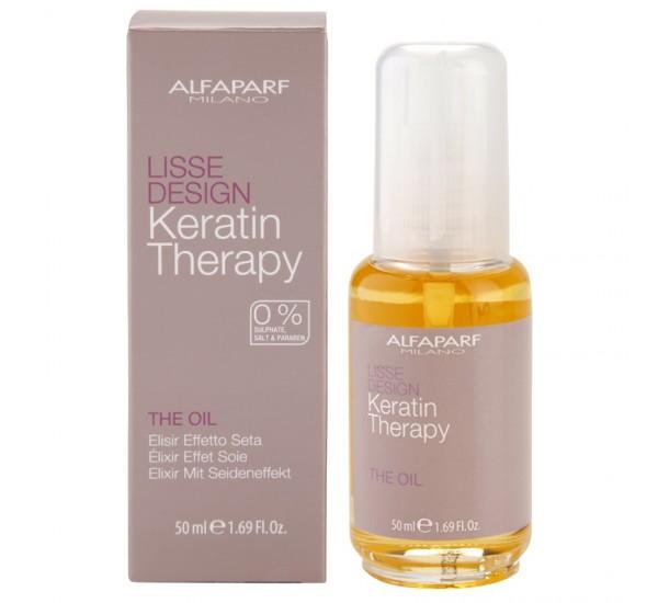 Alfaparf Milano Lisse Design Keratin Therapy Подхранващо масло с кератин 50мл.