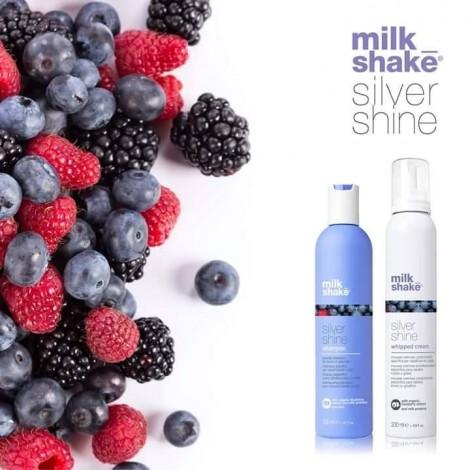 Milkshake Silver Shine Whipped Cream Матираща сметана за руса коса 200мл