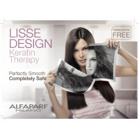 Кератинова терапия за трайно изправяне на косата Alfaparf Lisse Design Keratin Therapy