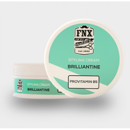 FNX BARBER FONEX PROFESSIONAL BRILLIANTINE BRIYANTIN HAIR STYLING CREAM  Брилянтин за коса150мл