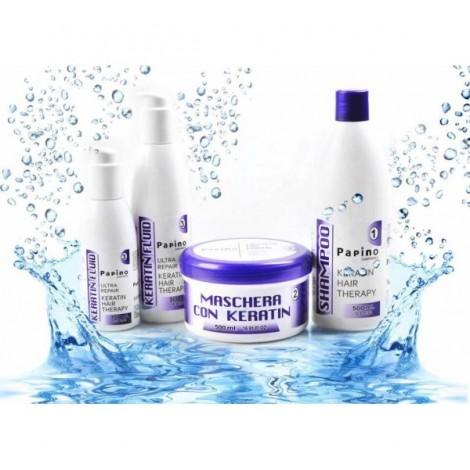 Papino Keratin Hair Therapy Shampoo Кератинов шампоан за коса 1000мл