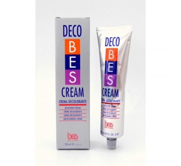 DECO BES CREAM - Обезцветяващ крем за коса 220 гр.