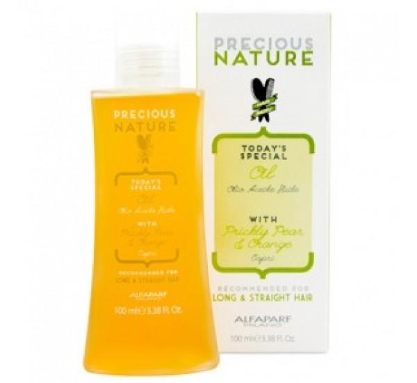 Alfaparf Precious Nature Oil for long and straight hair Подхранващо олио с екстаркт от индийска смокиня и портокал 100ml
