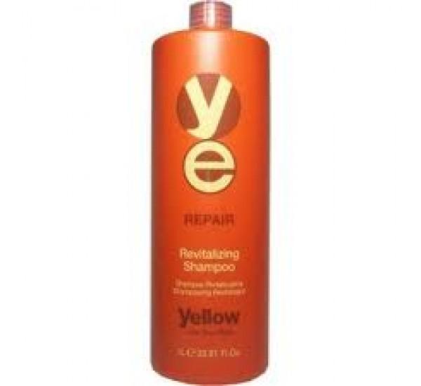 Alfaparf Yellow Repair Revitalizing Shampoo - Професионален възстановяващ шампоан за коса 1000мл.