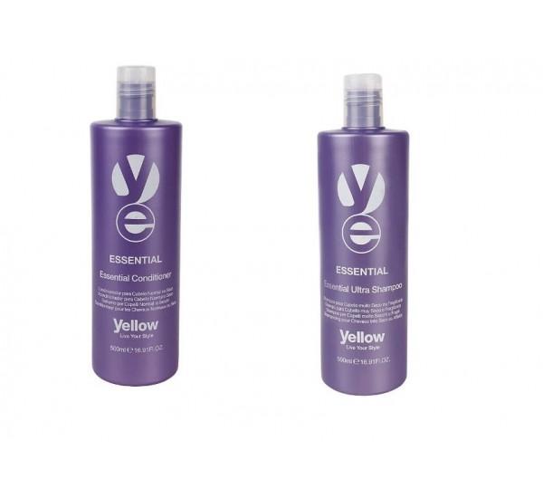 ALFAPARF Yellow Essential Shampoo Подхранващ шампоан за нормална или суха коса 500ml