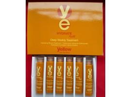 Alfaparf Yellow Hydrate Plus Weekly Treatment  Ампули за дълбока хидратация на косата 6x13ml..