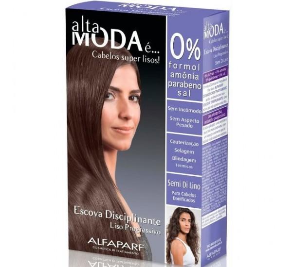 Alta Moda Професионална терапия за термично изправяне на увредени коси в 3 стъпки