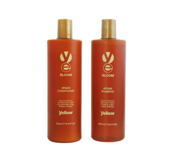 Alfaparf Yellow Bloom Argan Conditioner Професионален балсам за коса с арган 500ml