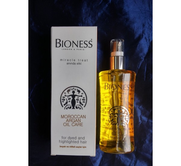BIONESS ARGAN CARE OIL Серум за коса с арганово олио за сухи и накъсани коси 125мл