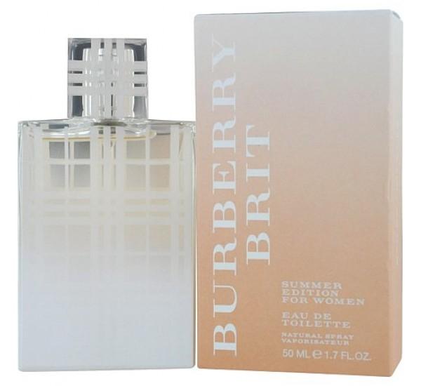 Burberry Brit Summer за жени дамска тоалетна вода 50ml