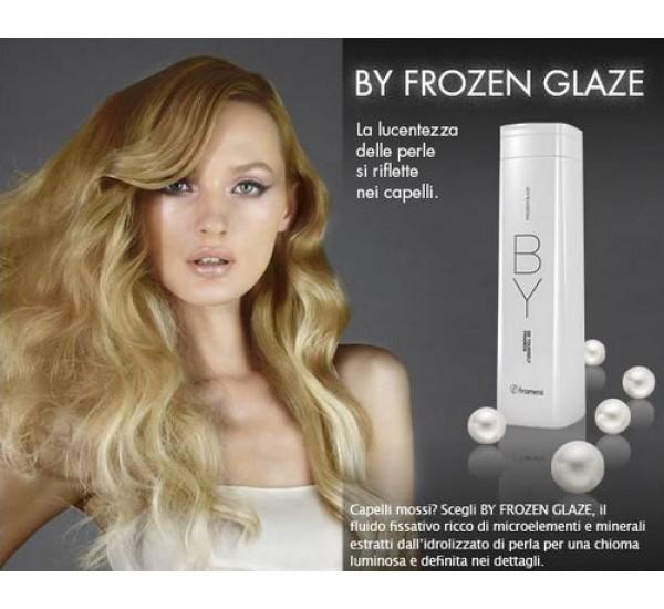 Framesi BY Frozen Glaze - Моделиращ флуид за чуплива и къдрава косаа 250 ml
