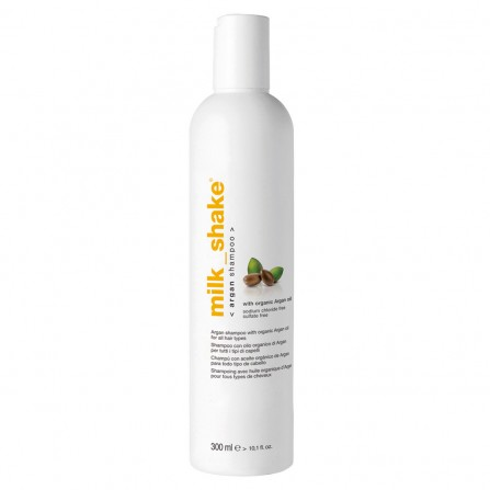 Milkshake ARGAN OIL SHAMPOO Професионален шампоан с арганово масло 300ml