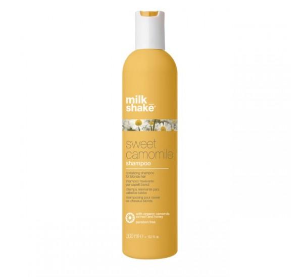 Milkshake Sweet Camomile Shampoo Шампоан за руси , изтощени и третирани коси със сладка лайка 300ml