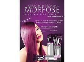 Morfose 10 Hair Color Cream Професионална боя за коса с аргано масло и специален билков комплекс 100..