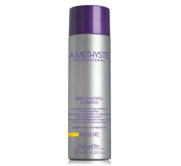 FarmaVita AMETHYSTE Regulate Shampoo Шампоан за мазна коса 250ml